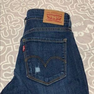 Levi's Jeans - Levi's 711 skinny jeans size 28/ 30.   NWT